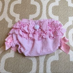 ✴️4/$15 Mudpie 12-18m ruffle Easter bunny bloomers